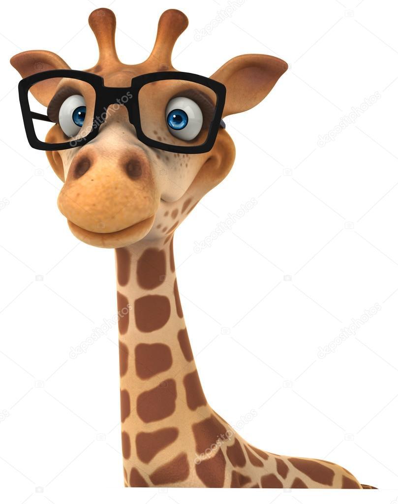 Fun Giraffe With Glasses Stock Photo 169 Julos 28808467