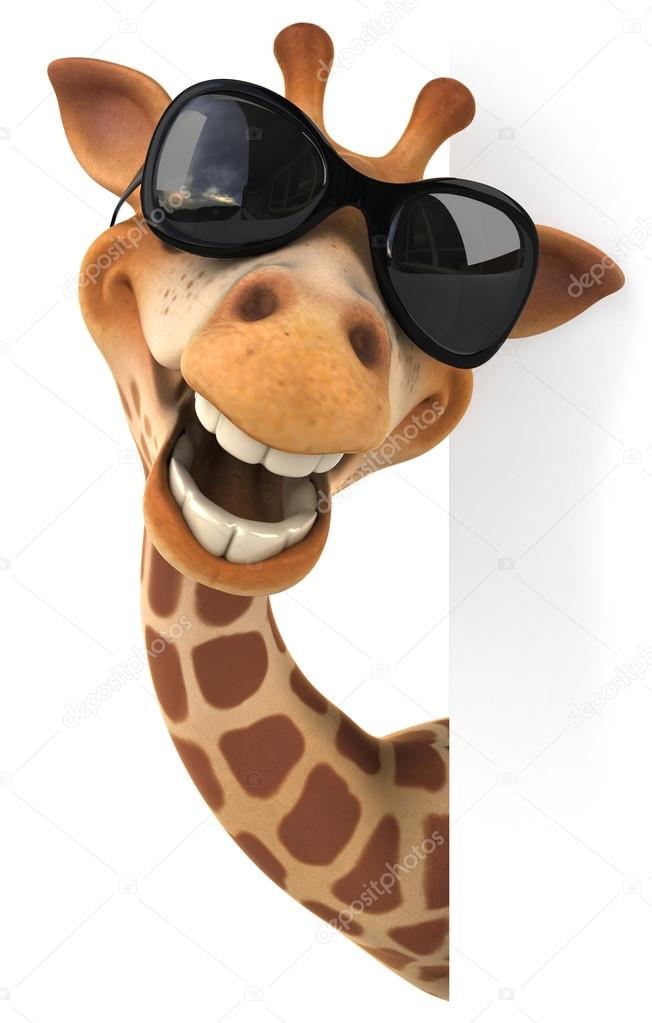 Giraffewith Glasses