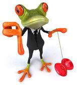Zábava žába