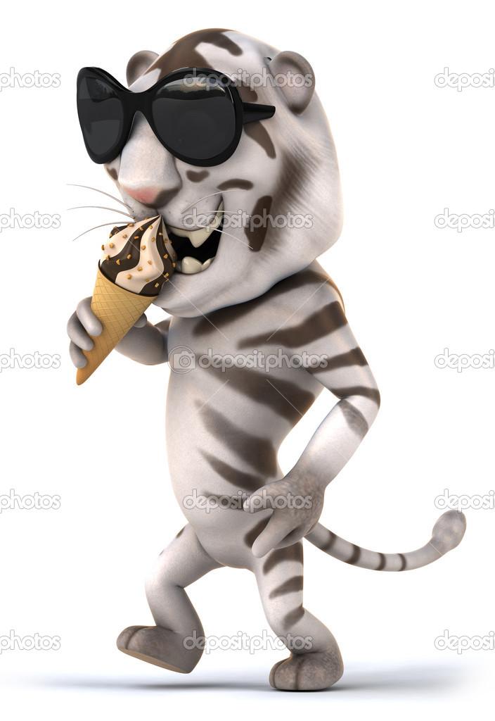 Tigre bianca u2014 foto stock © julos #46193467