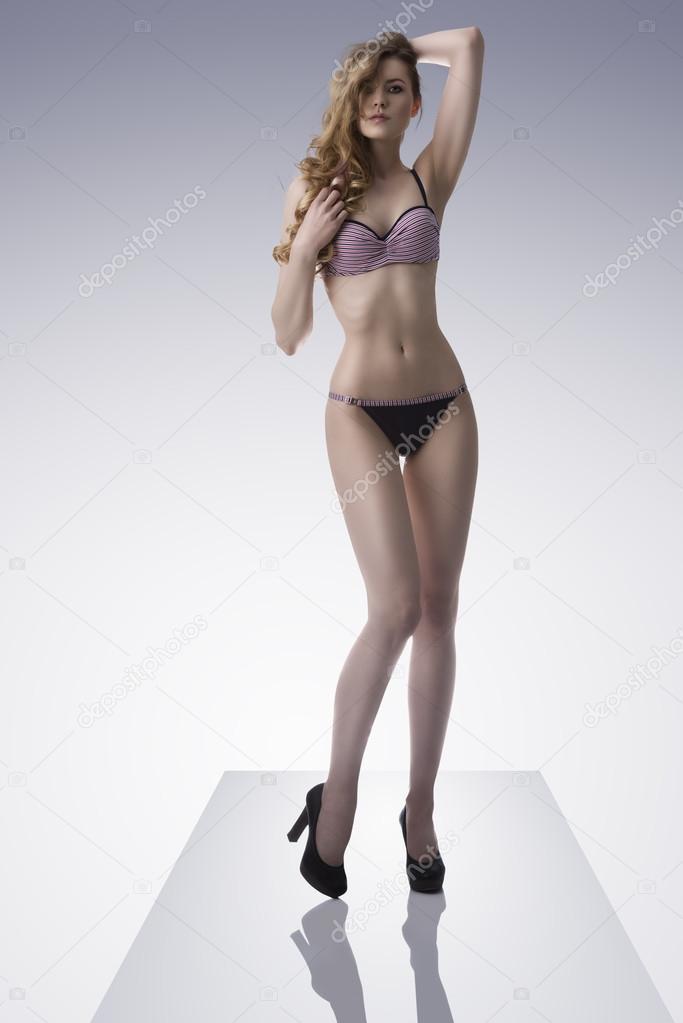 272ccc067a woman with in sensual pose — Stock Photo © carlodapino  27951099