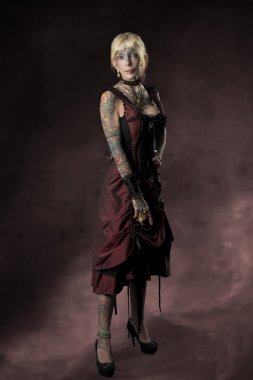 tattoo carnival gothic woman