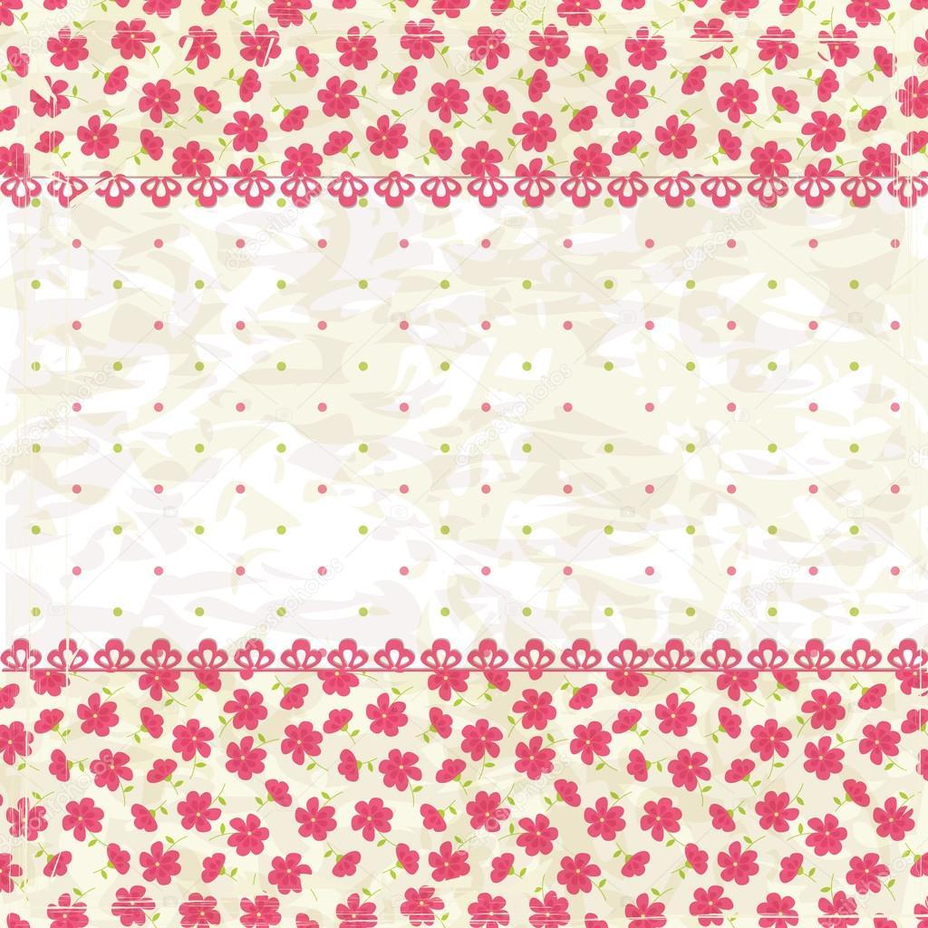 Vintage Flower Background Stock Vector C Annata78 25213705