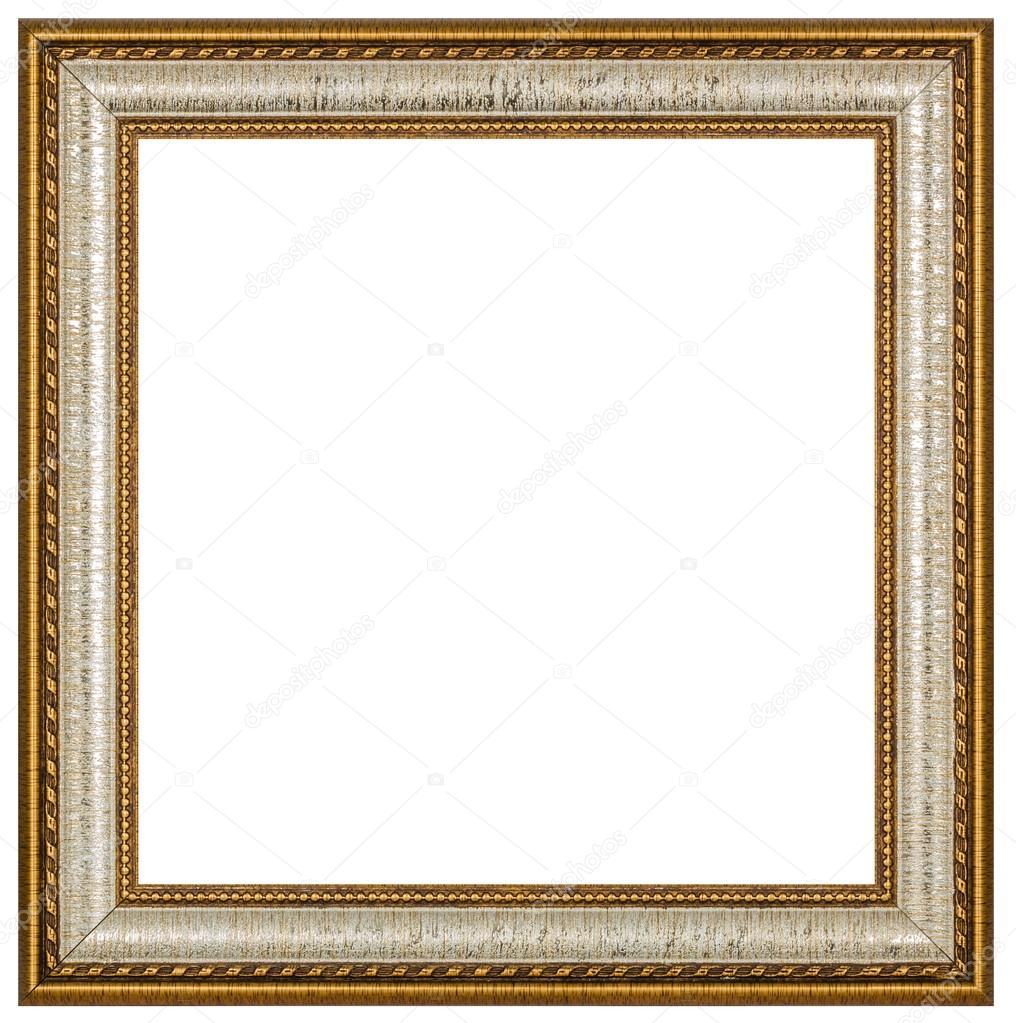 vintage bild rahmen wei er hintergrund mit beschneidungspfad stockfoto kostyuchenko 47722143. Black Bedroom Furniture Sets. Home Design Ideas