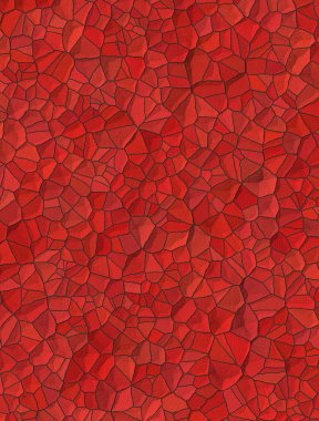 red background with little stones texture