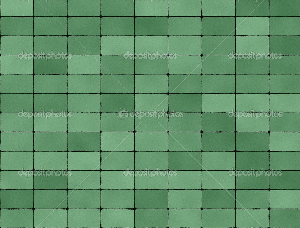 varrat nélküli textúra a zöld csempe — Stock Fotó © sfinks #34193501