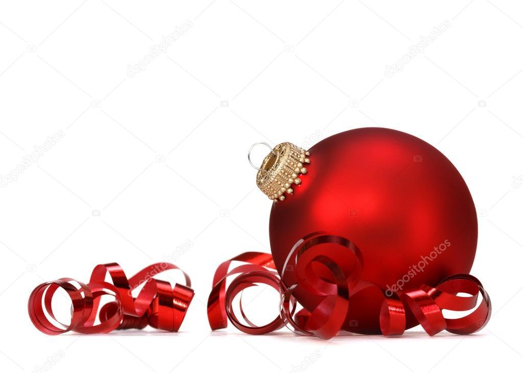 Bola navidad roja foto de stock mblach 14098156 - Bolas gigantes de navidad ...