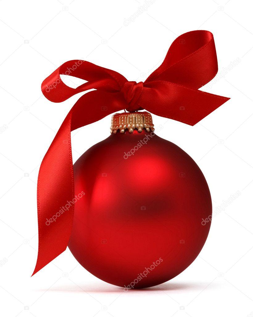 Bola navidad roja fotos de stock mblach 15634291 for Bolas de navidad baratas