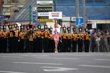 International festival of military orchestra in Moscow