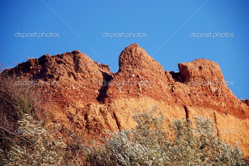 Clay mountain