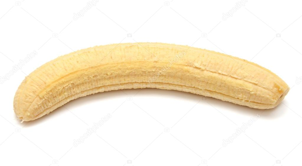 Banana Without Skin Stock Photo C Ian 2010 41604313