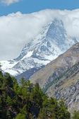 Letní Matterhornu (Alpy)