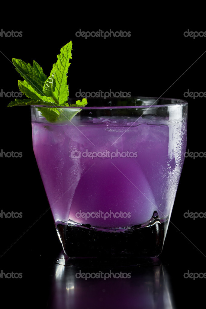 paarse cocktail