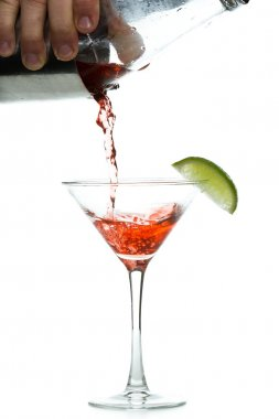 pouring a cosmo