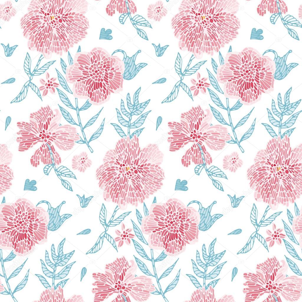 Simple Flower Background Stock Vector C Tiff20 49533009