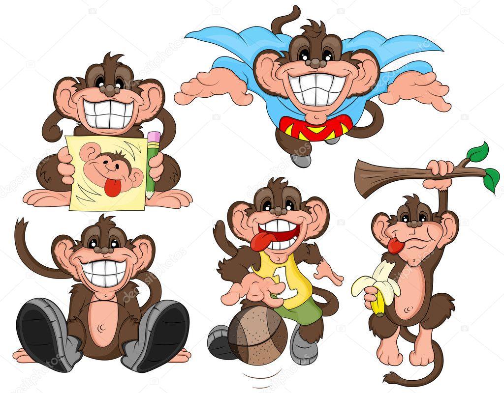 Картинки надписями, смешные обезьянки рисунки