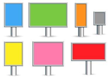 Billboards Vectors