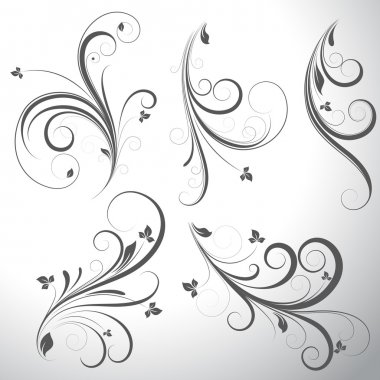 Swirls Vector Elements