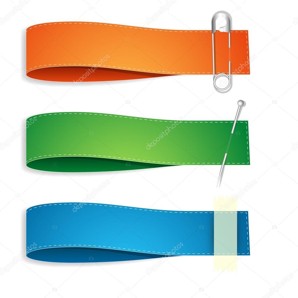 ribbon banner vectors stock vector baavli 12853548 rh depositphotos com banner vector art free banner vector art
