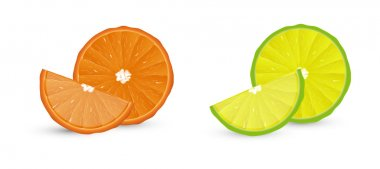 Lemon Orange Vectors