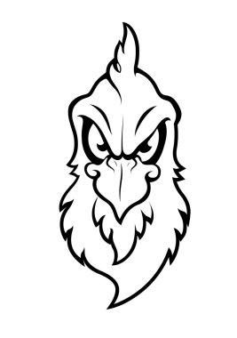 Bird Mascot Vector Character