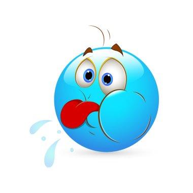 Smiley Emoticons Face Vector - Teasing