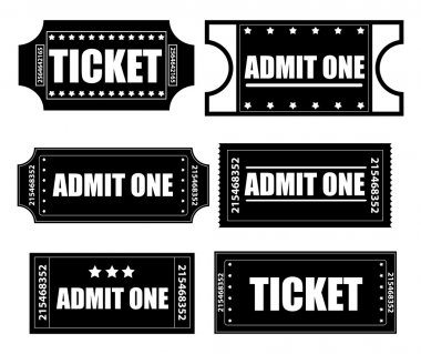 Tickets Vectors