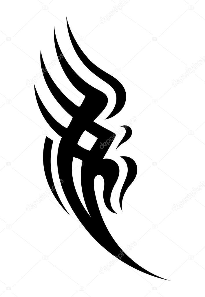 Tribal Tatuaż Wektor Wzór Grafika Wektorowa Baavli 14179364