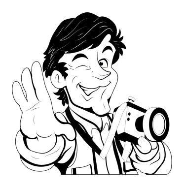 Portrait Photographer Vector