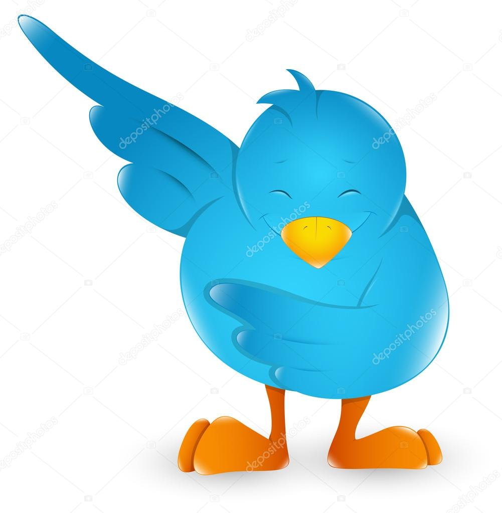 Twitter Cartoon Icon