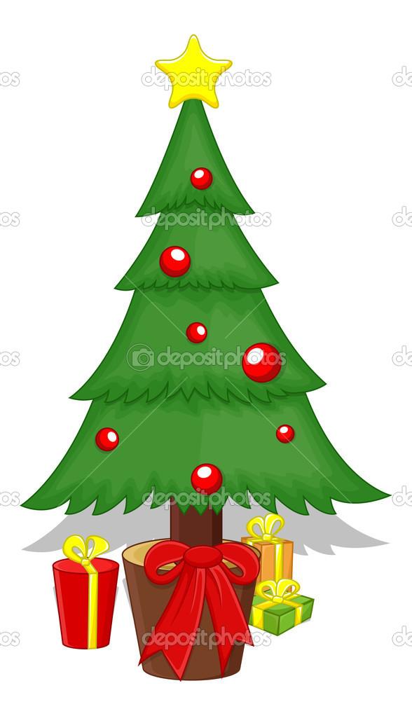 arte creativo diseo conceptual de la ilustracin de la historieta rbol navidad vector vector de baavli - Dibujo Arbol De Navidad