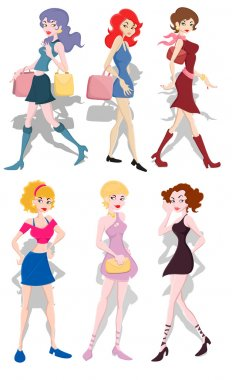 Fashionable Girls Collection