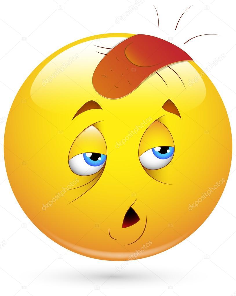 Vecteurs Pour Smiley Fatigue Illustrations Libres De Droits Pour Smiley Fatigue Depositphotos