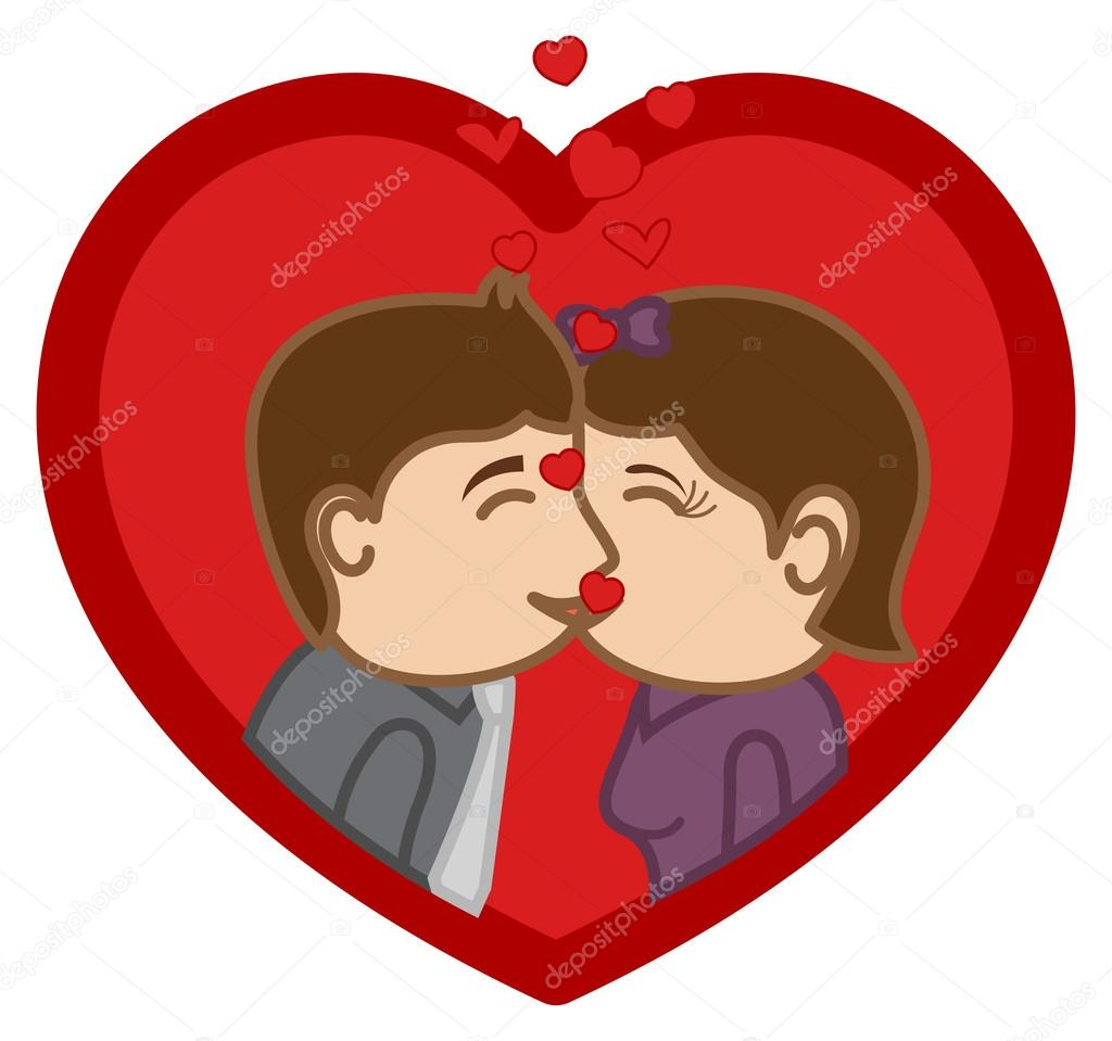 Besos - Personaje De Dibujos