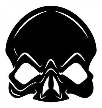 Skull Head Vector
