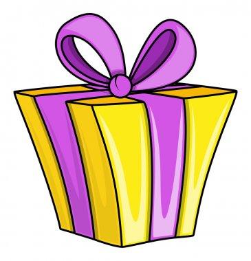 Cartoon Gift Box - Vector Illustrations