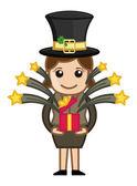 Patrick je den svatého dárek - Business kreslené postavičky
