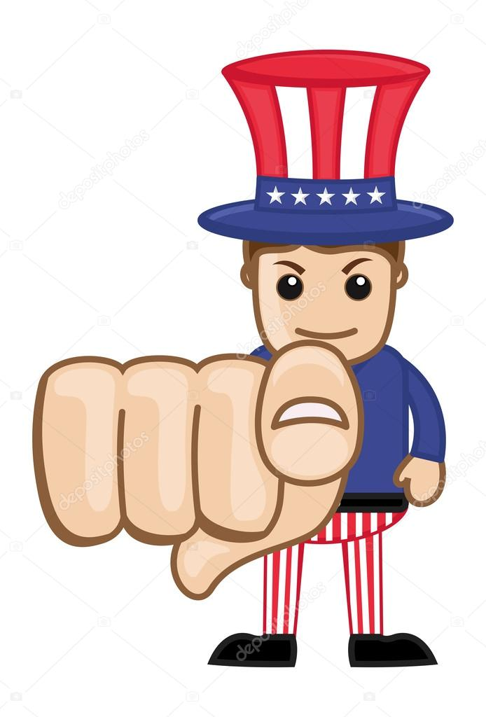 Cartoon Characters 3 Fingers : We want you uncle sam business cartoon characters