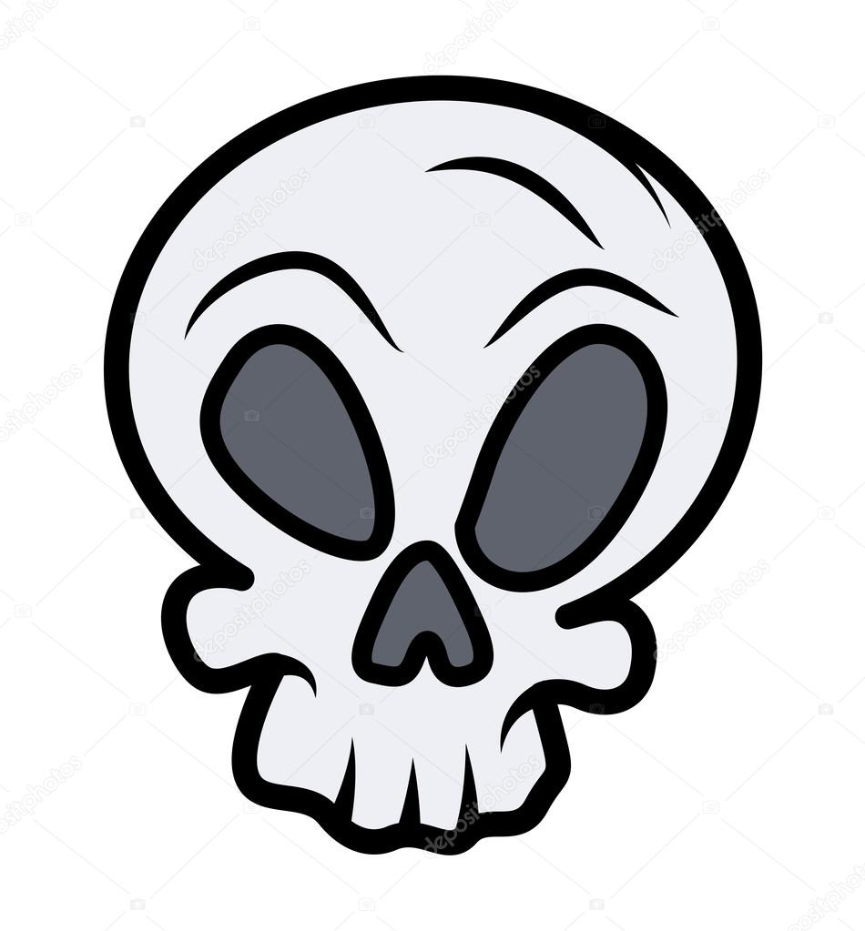 Simple Skull Drawing Simple Skull Tattoo Stock Vector C Baavli
