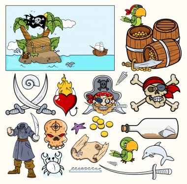 Pirate Illustrations - Vector Designs