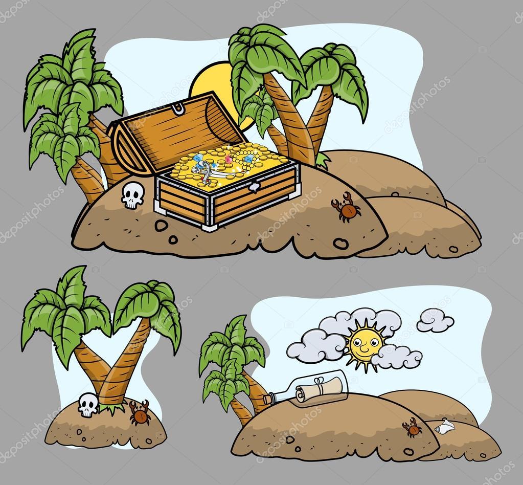 Cartoon Islands