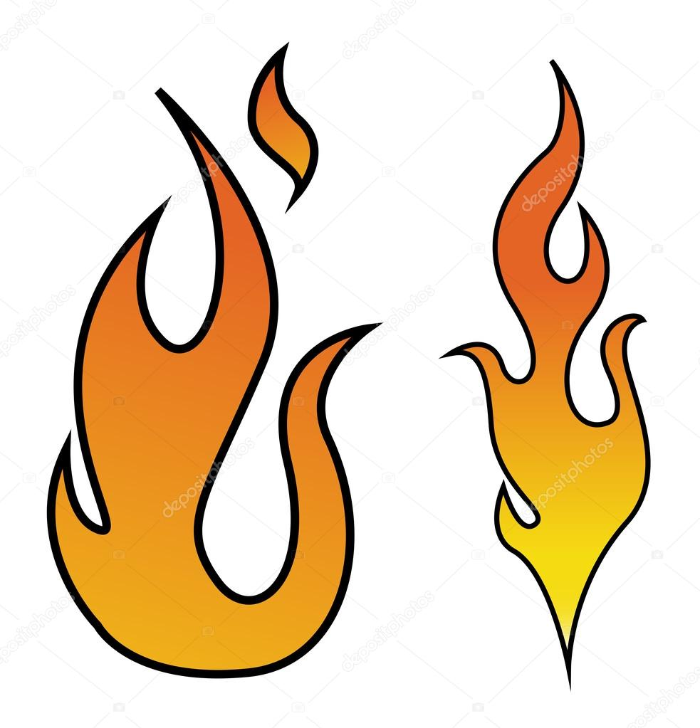 Flame Vector