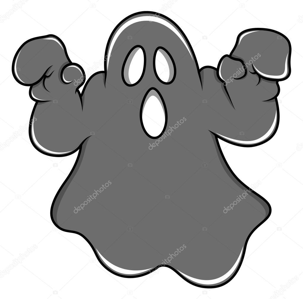 evil cartoon ghost - HD3000×2959