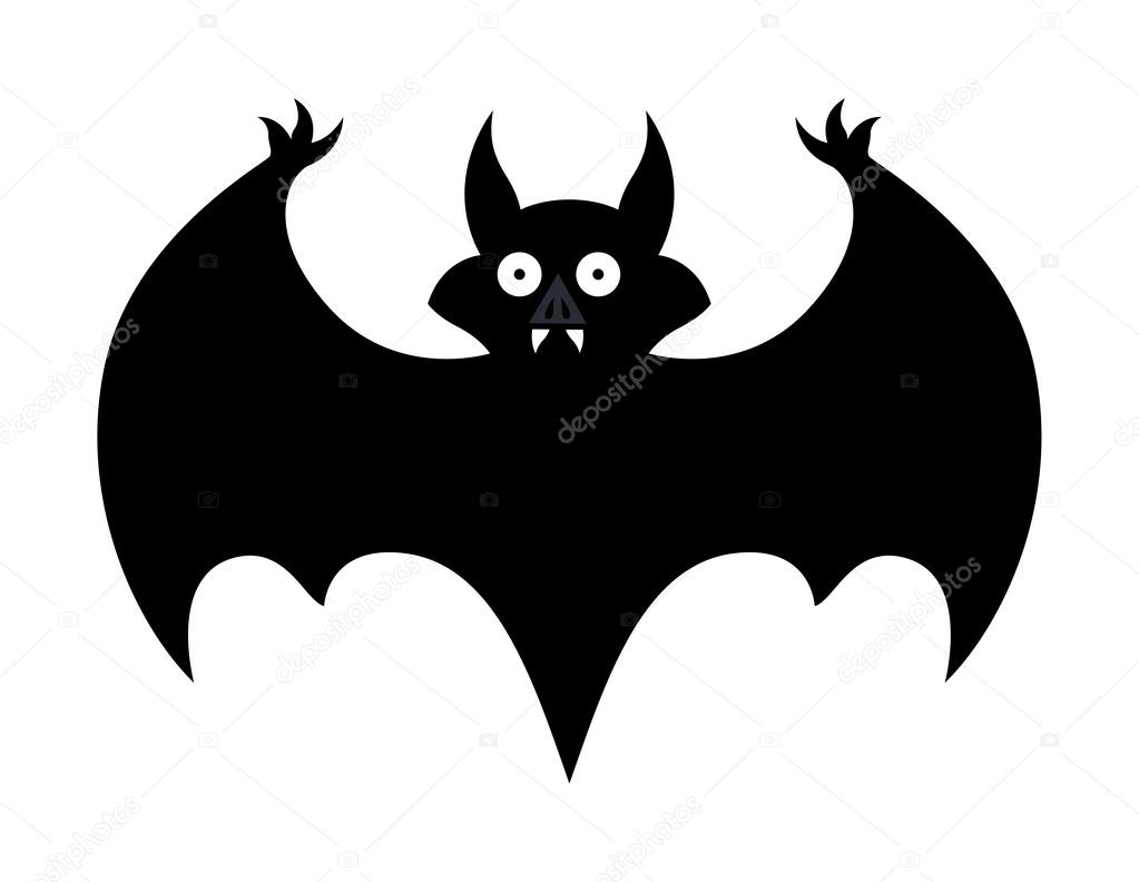 Bat - halloween vector illustration — Stock Vector © baavli #32525047
