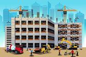 Fotografie budova stavební scénu