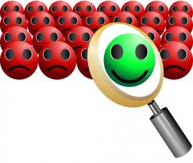 Search Employee Icon for Recruitment Agency Magnifier vector illustration