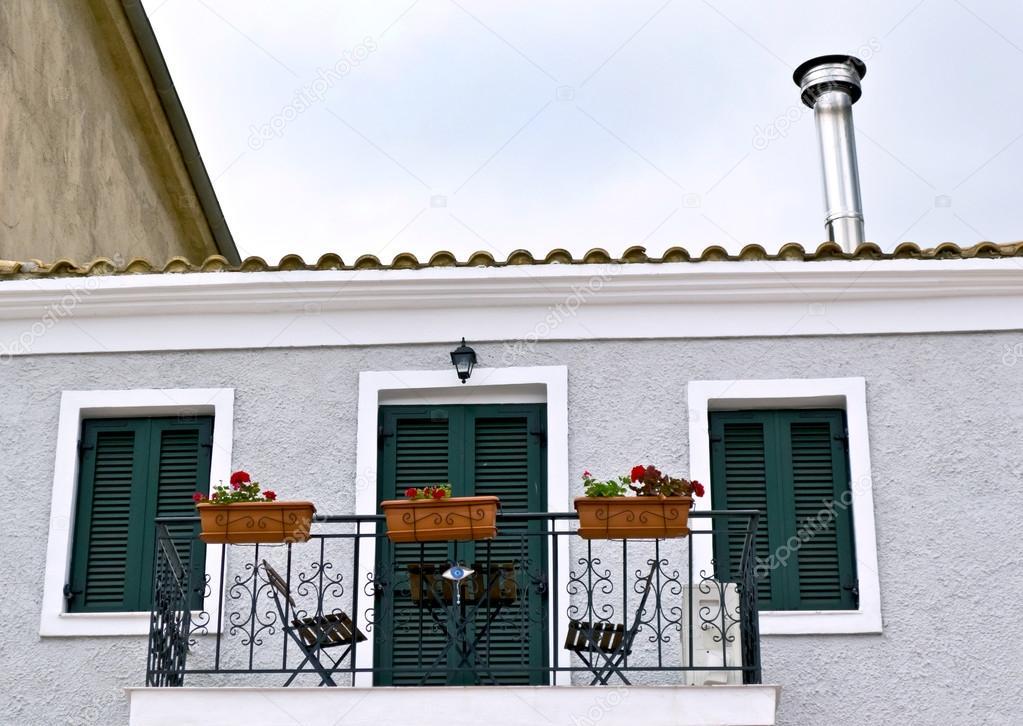 Terraza Casa Mediterránea Fotos De Stock Vician 27158875