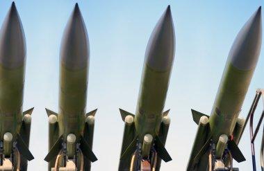 Antiaircraft missiles