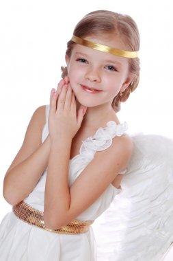 Lovely angelic little girl