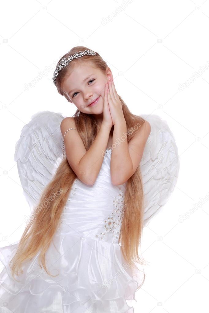 Young Angel Girl Stock Photo C Mari1photo 35517185